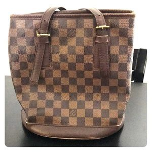 Louis Vuitton Marais Bucket PM - Damier Ebene